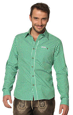 Stockerpoint Traditional Shirt Campos2 Dark Green