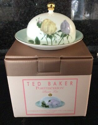 Portmeirion Ted Baker Rosie Lee Covered Butter Dish New Boxed