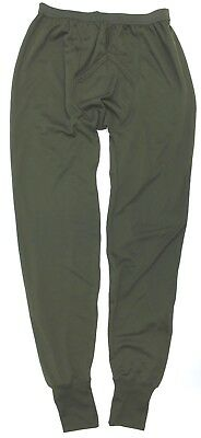 Thermal Underwear Light Olive Forces Genuine British Army Long Johns