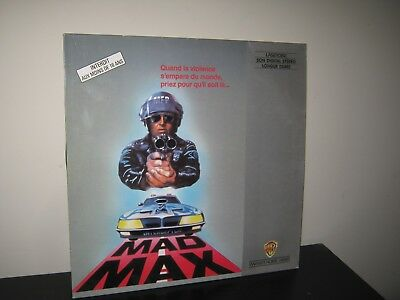 laser disc  PAL :film mad max avec mel gibson