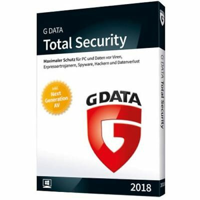 G Data Total Security 2018 1PC