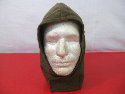 post-Vietnam US Army Man's Sleeping Bag Hood OG-106 Tricot Knit - Excellent Cond