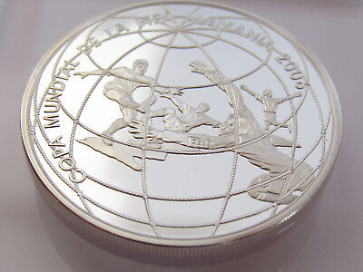 Peru Un Nuevo Sol 2004, Fifa World Cup Soccer Germany Silber Pp, In Kapsel