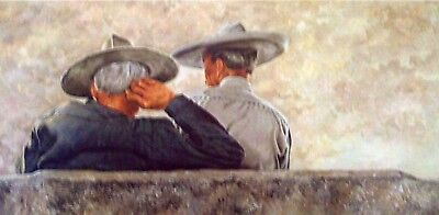 """Vic Herman (1919-1999) """"two Heads Better Than One"""" - List Price $450./ Special"""