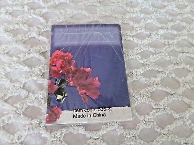 8 Floral Bookplates self Adhesive Labels
