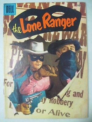 The Lone Ranger #98 August 1956 Dell Comics Western