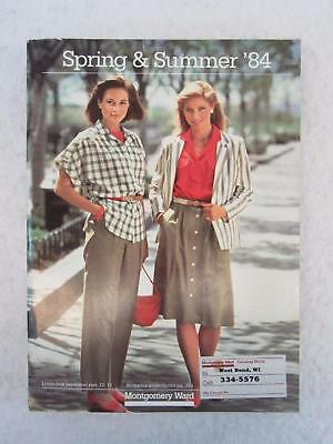 MONTGOMERY WARD 1984 SPRING & SUMMER CATALOG 968 pages of those '80s Styles!