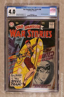 Star Spangled War Stories (DC) #3 to 204 #88 1960 CGC 4.0 1448403012