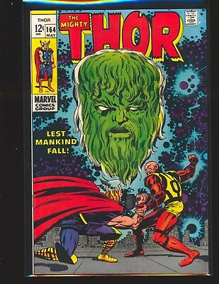 Thor # 164 - 3rd brief Warlock (Him) VG/Fine Cond.