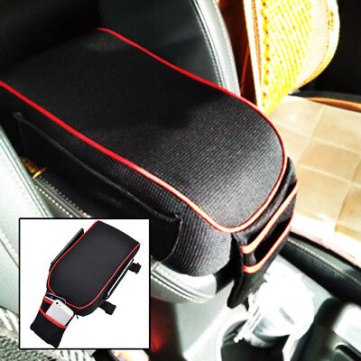 UNIVERSAL Car Armrest Support Cushion Arm Rest Cover Elbow Center Console Pad