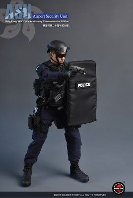 1/6 Scale Soldier Story SS103 Hong Kong ASU (Airport Security Unit) Box Set