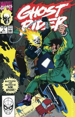 Ghost Rider (2nd Series) #4 1990 FN Stock Image