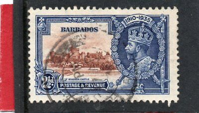 Barbados GV 1935 Silver Jubilee 2.1/2d sg 243 Used