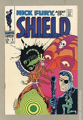 Nick Fury Agent of SHIELD (1st Series) #5 1968 VF- 7.5