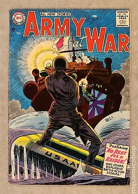 Our Army at War #55 1957 VG 4.0