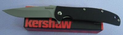 Kershaw Knife 3410 Chill Plain Edge G10 Linerlock 8Cr13Mov New In Box