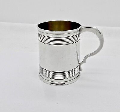 Antique 1866 London Roberts/briggs Sterling Silver Child Youth Cup,clean,no Mono