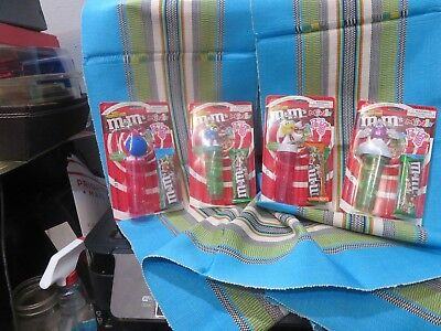 M&M's Minis Winter Fun Complete set of 4 New In Original Sales Pacage