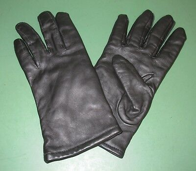US Military Issue Black Sheepskin Leather Lined Dress Uniform Gloves All Sizes