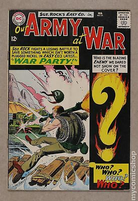 Our Army at War #151 1965 GD/VG 3.0