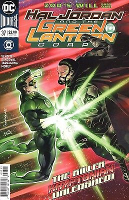 Hal Jordan And The Green Lantern Corps #37 Cover A General Zod
