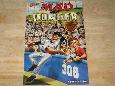 MAD About Hunger        MAD Magazine Mini Issue       Ball Park Franks      2007