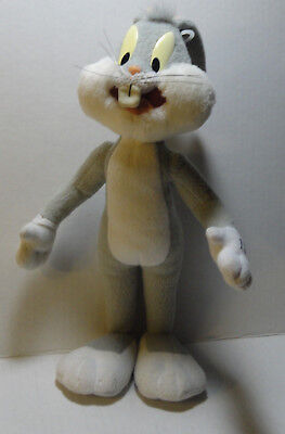 """12"""" 80's-90's  Looney Tunes Poseable Self Standing Bugs Bunny Plush"""