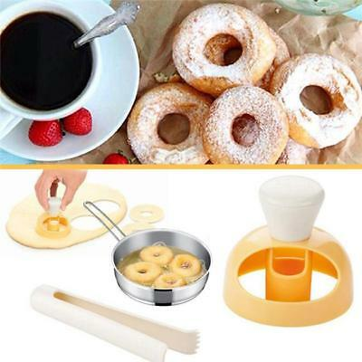 Hollow Donut Mold Cake Desserts Bread Cutter Doughnut Maker Baking Mould Tool BS