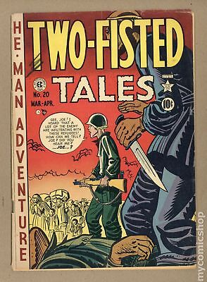 Two Fisted Tales (EC) #20 1951 GD/VG 3.0