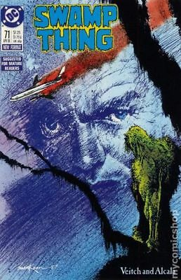 Swamp Thing (2nd Series) #71 1988 VF Stock Image