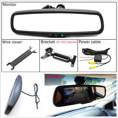 """4.3"""" 800*480 TFT LCD Color Car Rear View Mirror Monitor Electronic Auto Dimming"""
