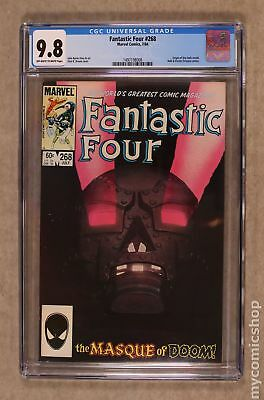 Fantastic Four (1st Series) #268 1984 CGC 9.8 1497198008
