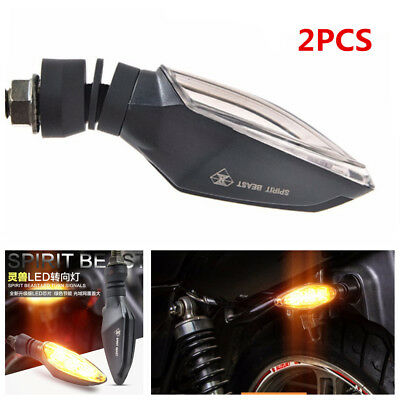 2X 12V Motorcycle Modified Turning Signals Light Super Bright LED Steering light