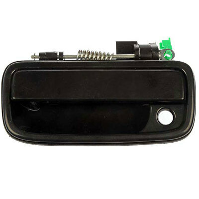 Exterior Outer Black Front Left Driver Side Door Handle For 95-04 Toyota Tacoma