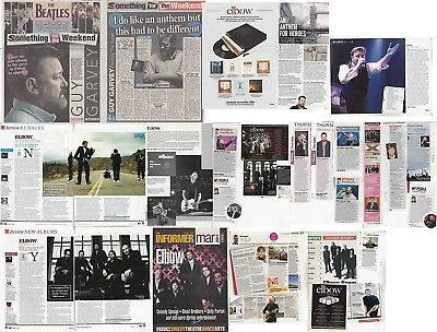 ELBOW : CUTTINGS COLLECTION -interviews- clippings