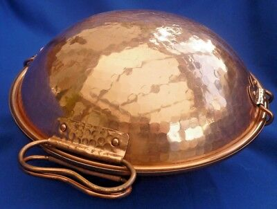 Portuguese Copper Cataplana ~ Complete With Instructions