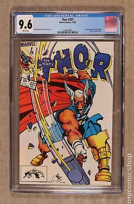 Thor (1st Series Journey Into Mystery) #337 1983 CGC 9.6 1238046001