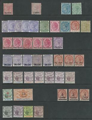 Mauritius - Early, Duplicated Mint Stock On 6 Hagnar Sides - Good £Cv