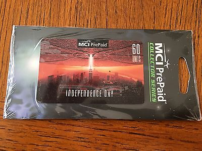Independence Day, MCI PrePaid, Collector Series, 60 units, in foil, expired