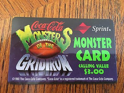 Cola Cola, Monster of the Gridiron, Sprint, 1994