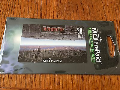 Independence Day, MCI PrePaid, Collector Series, 30 units, in foil, expired