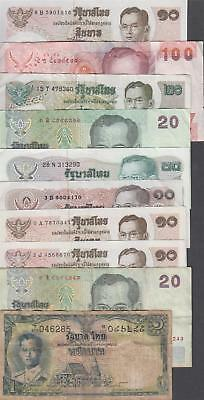 10 Banknotes from Thailand