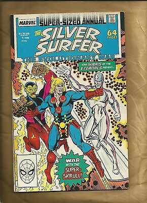 Silver Surfer Annual 1 FN 1988 ND The Eternals Marvel Comics