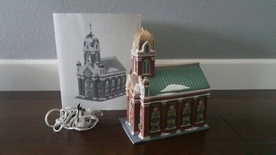 Dept 56 Heritage Village Collection HOLY NAME CHURCH Lighted