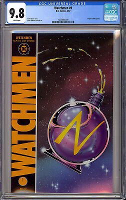 Watchmen #9 High Grade Movie Alan Moore DC Comics 1987 CGC 9.8
