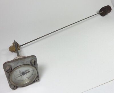 Vintage Rochester Lexington M5-50 Depth Flat Dial Fuel Liquid Level Gauge 22""