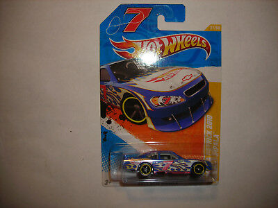 2011 Hot Wheels #37 Blue Danica Patrick 2010 CHEVY IMPALA RARE FREE SHIP VHTF