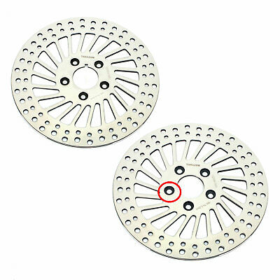 84-99 Harley Softail Heritage Fat Boy Dyna 1340 FXDB Front Rear Brake Disc Rotor