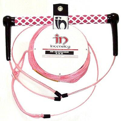 Intensity Wakeboard Waterski Kneeboard Spectra Rope & Handle Package PINK