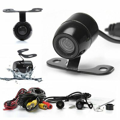 120° Mini Waterproof Night Vision HD CCD Car Rear View Reverse Backup Camera ZD